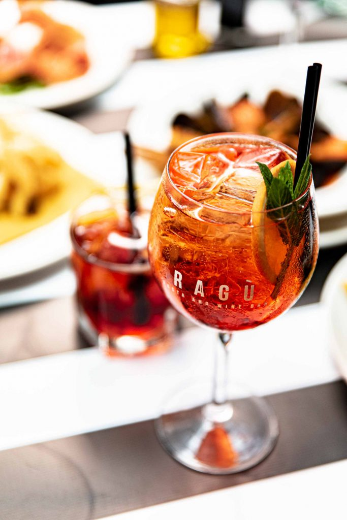 Happy Hour Cocktails served with Italian Food in Sydney CBD